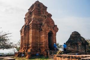 Mui Ne, Vietnam - March 6, 2017: Po Shanu Cham Towers In Mui Ne,