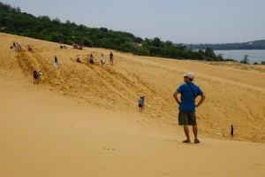 Sand Dunes In Phan Thiet, Vietnam