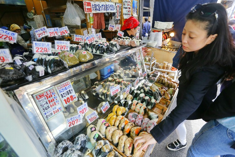 targ rybny w Tokio