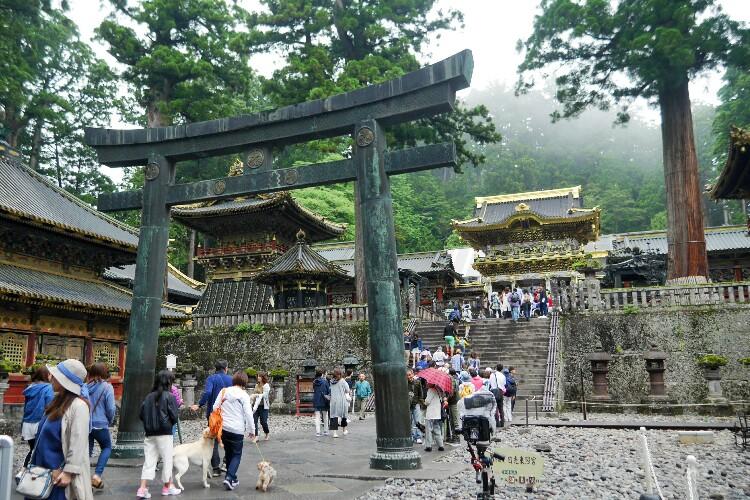 Toshogu w Nikko