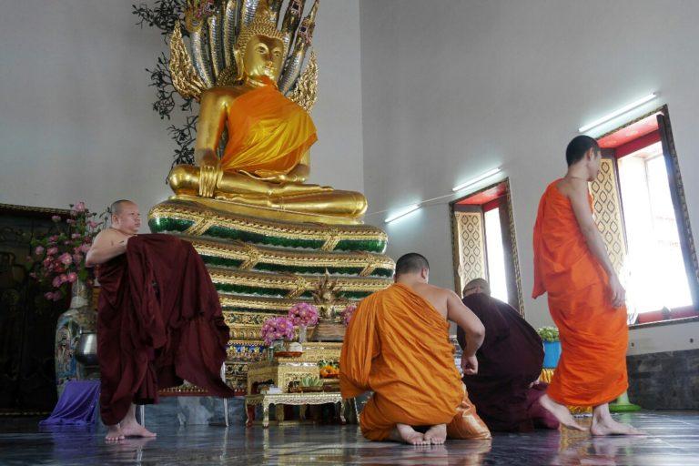 Wat Pho w Bangkoku w Tajlandii