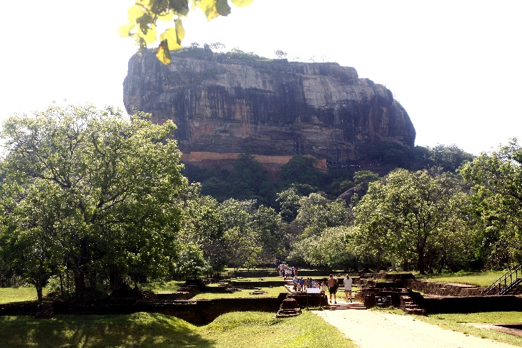 Sigiriya na Sri Lance