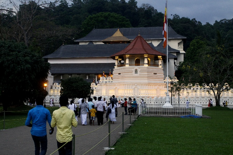 świątynia Zęba na Sri Lance