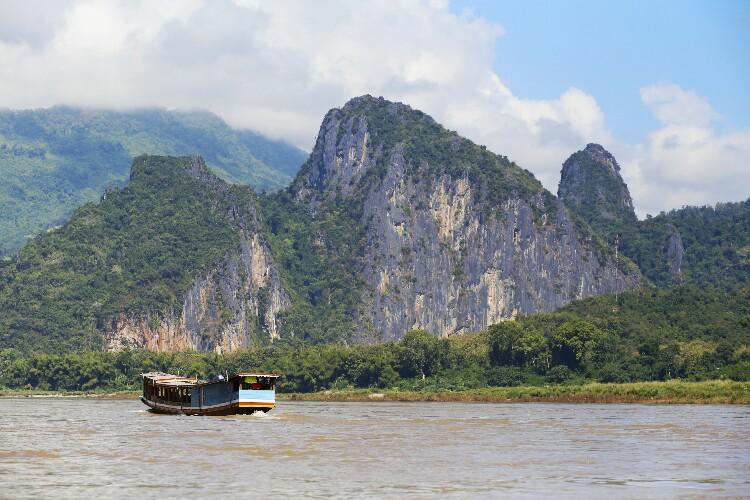 Mekong w Laosie