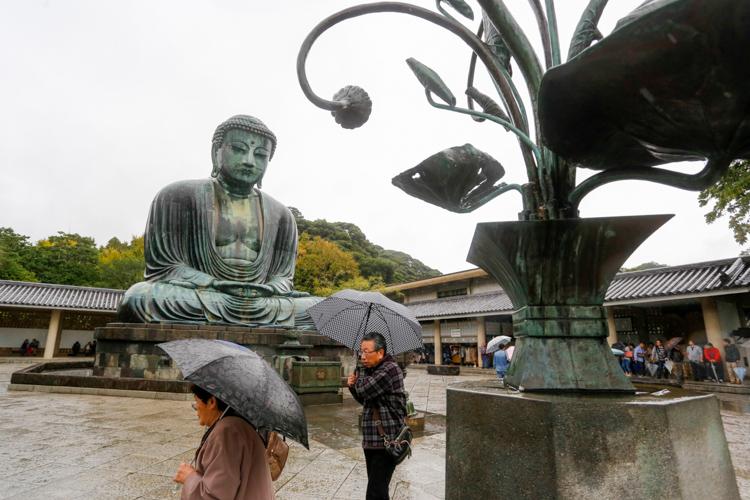 Budda Daibatsu w Kamakurze