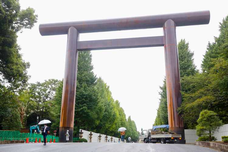Brama Torii w Japonii