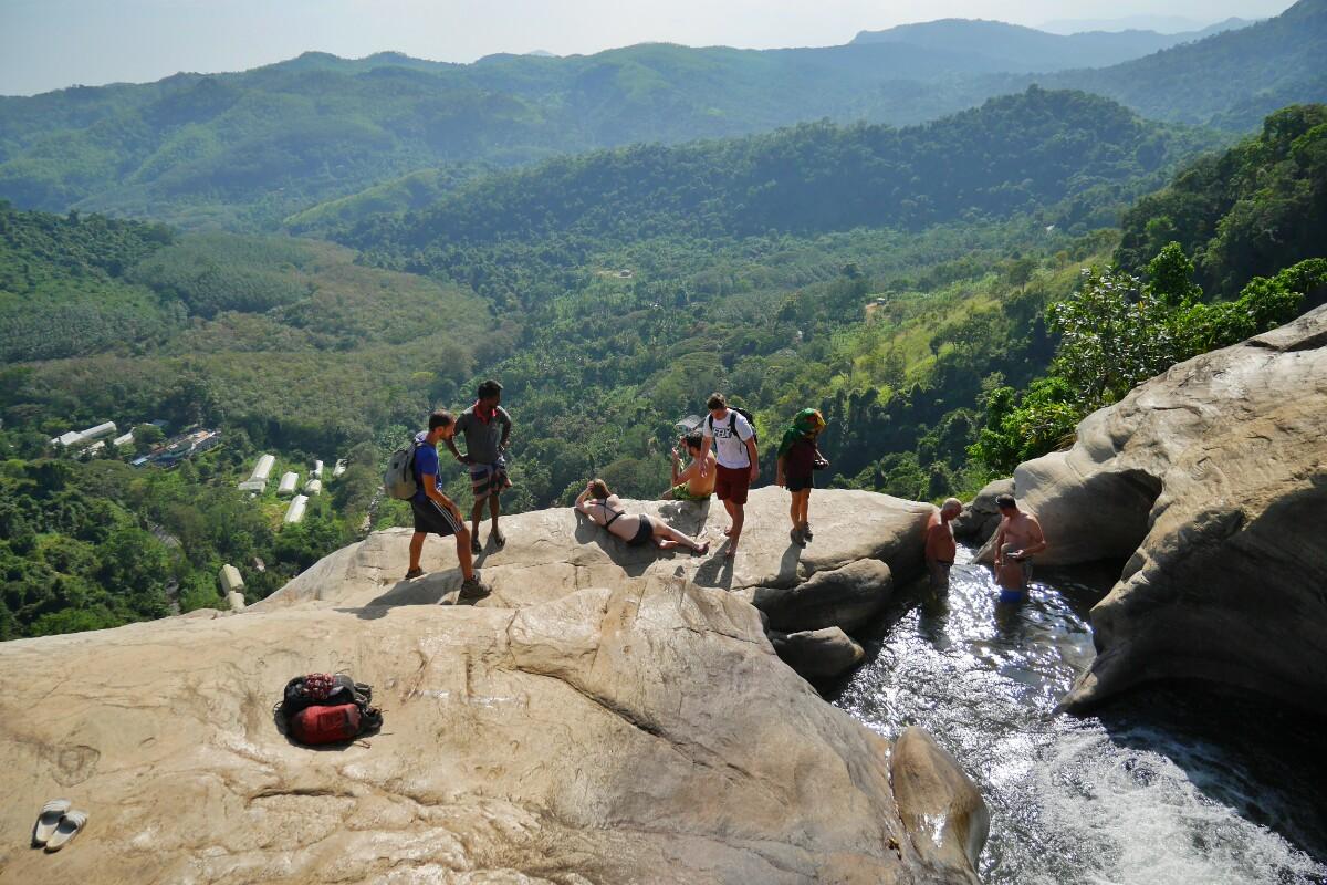 wodospad Diyaluma na Sri Lance