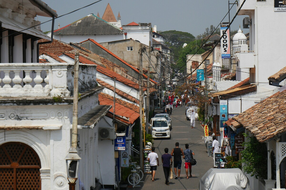 Stary Fort w Galle na Sri Lance