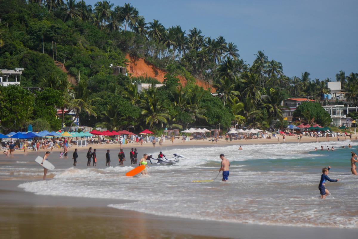 plaża Mirissa na Sri Lance