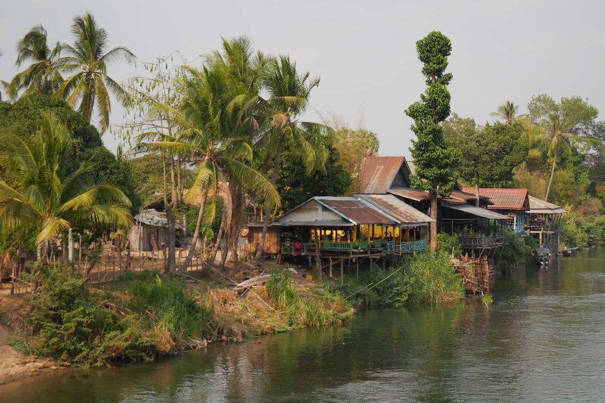 Kraina 4000 Wysp w Laosie