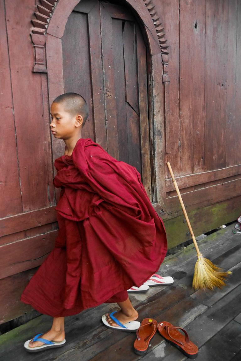świątynia Shwe Yan Pyay w Birmie