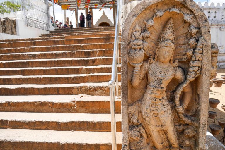 Mura Gala w świątyni w Anuradhapura na Sri Lance