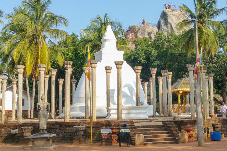 stupa w Mihintale na Sri Lance