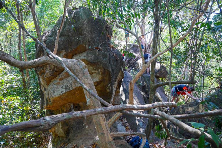 Wielka Ściana niedaleko Thakhek