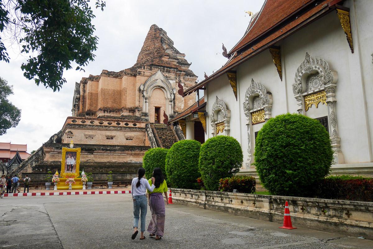 Wat Chedi Luang w Ayutthaya