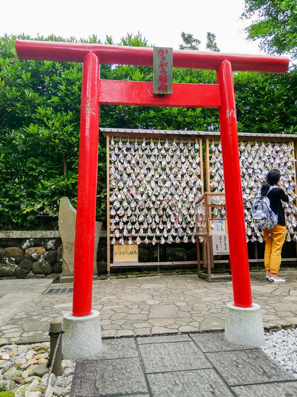 tabliczki wotywne ema w Kamakurze