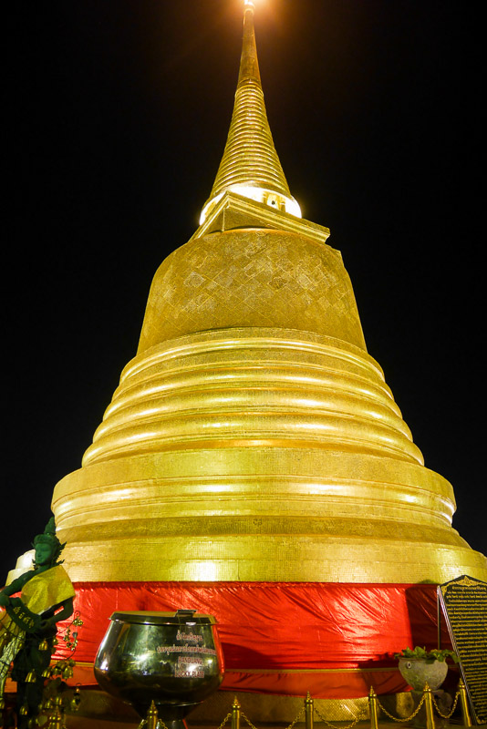 Wat Saket w Bangkoku