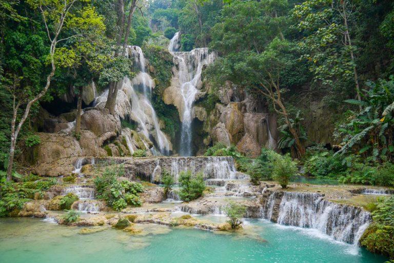 Wodospad Kuang Si