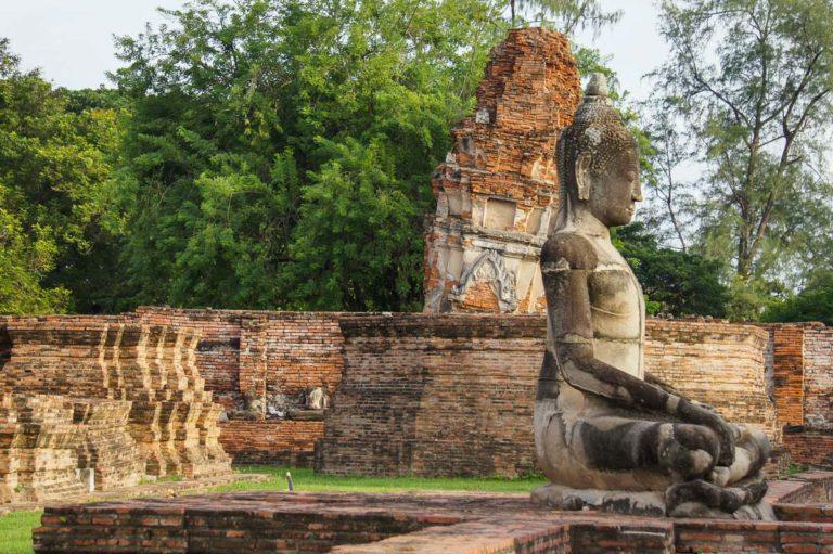 Pozostałości po Wat Maha That