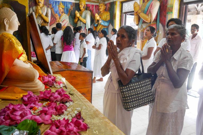 Świątynia przy dagobie Jatavanaramaya