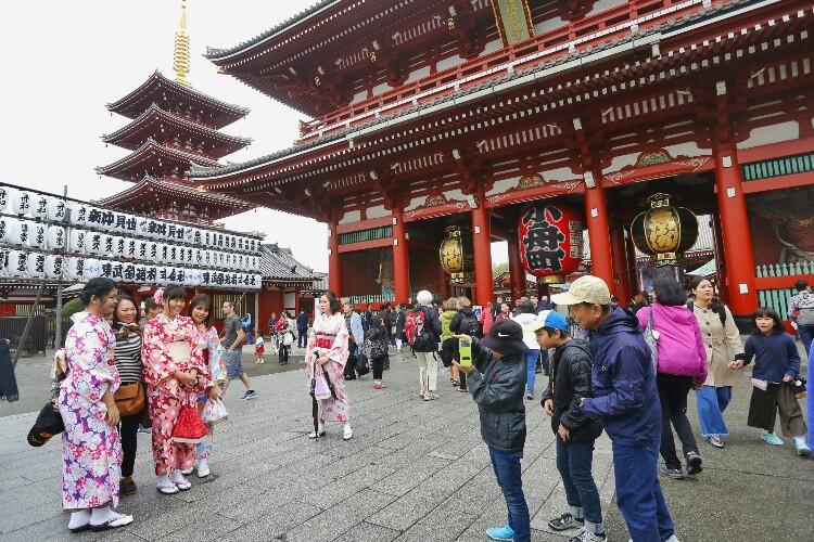 Senso-ji w Tokio