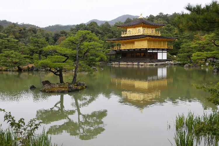 Kinkaku-ji w Kioto