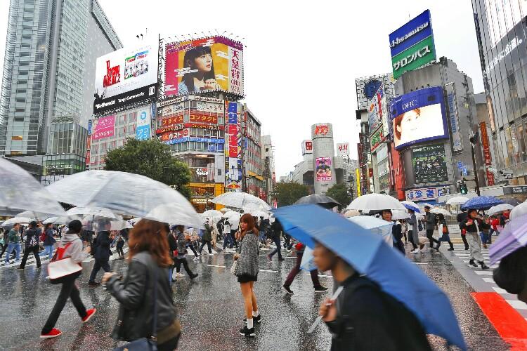 Shibuya w Tokio