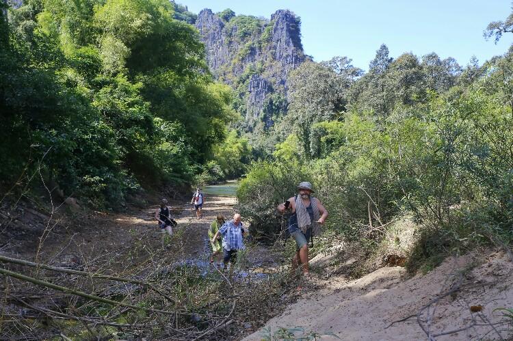 Kong Lor w Laosie