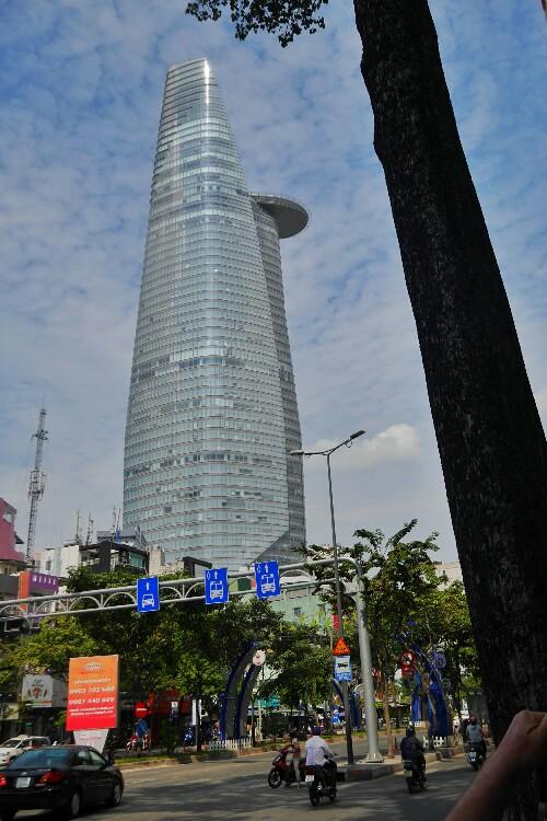 Bitexco w Sajgonie w Wietnamie
