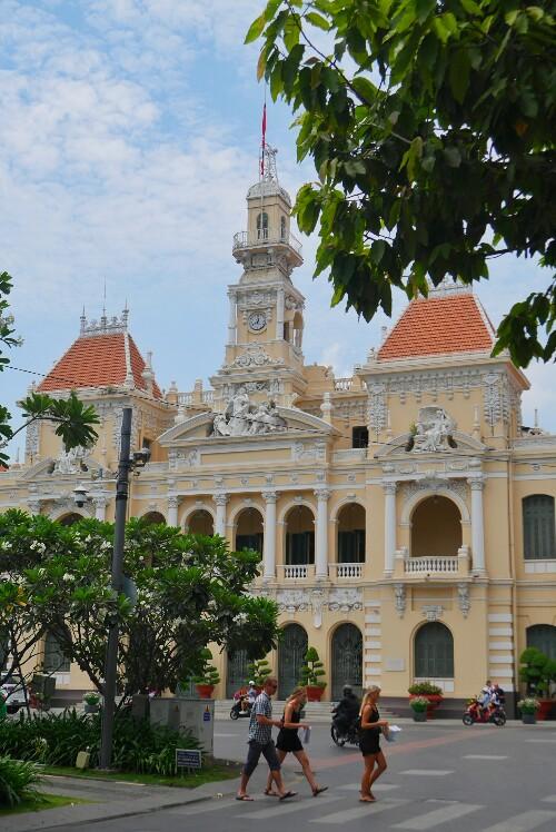 Ratusz w Sajgonie w Wietnamie