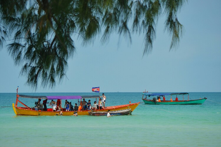 wyspa Koh Rong Sanloem w Kambodży