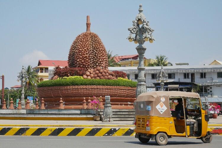 durian Kampot w Kambodży