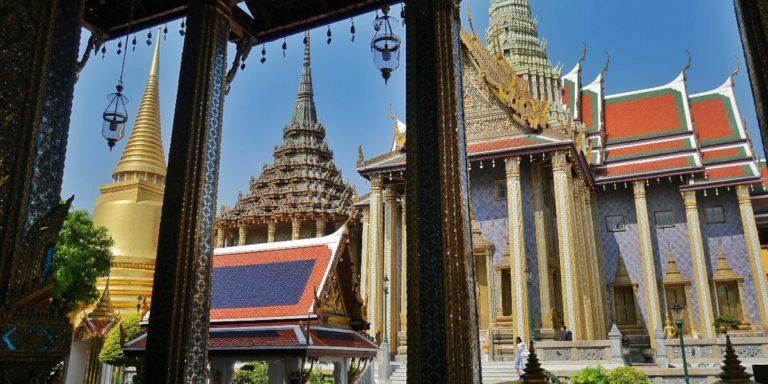 Pałac Królewski w Bangkoku w Tajlandii