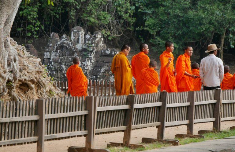 Neak Pean w Kambodży