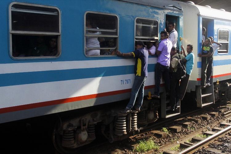 pociąg na Sri Lance