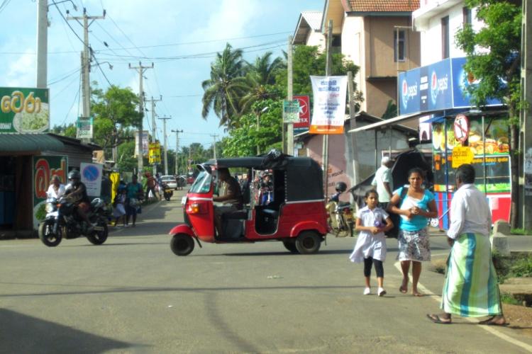 tuk-tuk na Sri Lance