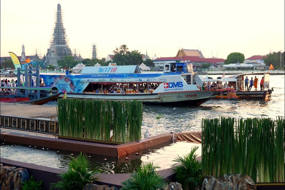 Wat Arun w Bangkoku w Tajlandii