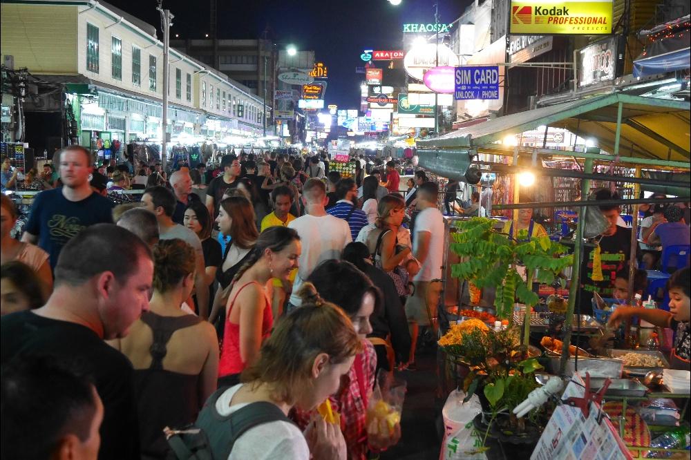 Khao San w Bangkoku