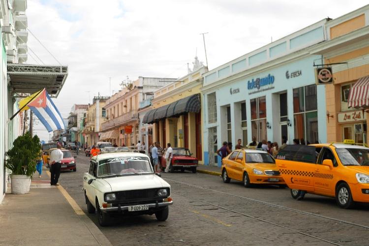 Cienfuegos na Kubie