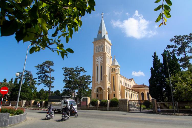 kościół w Da Lat w Wietnamie