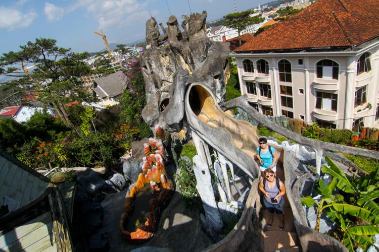 Szalony Dom w Da Lat w Wietnamie