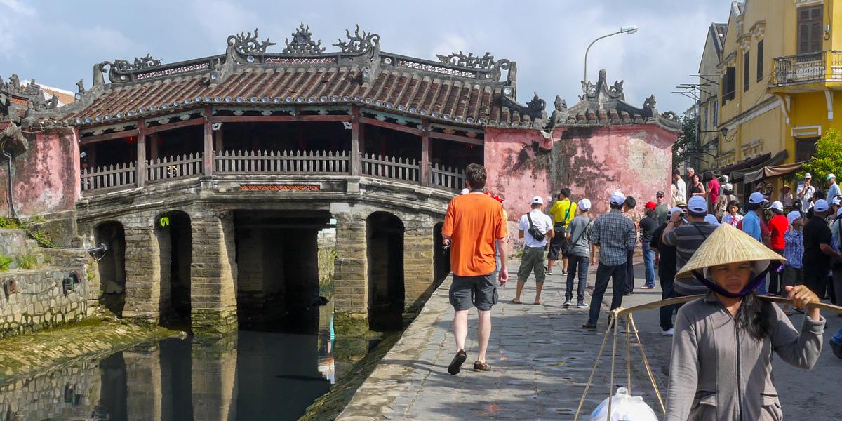 Japoński Most w Hoi An