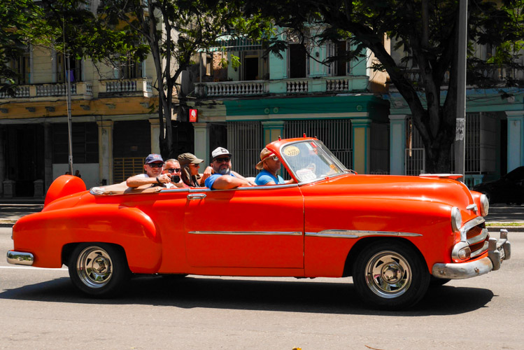Havana na Kubie