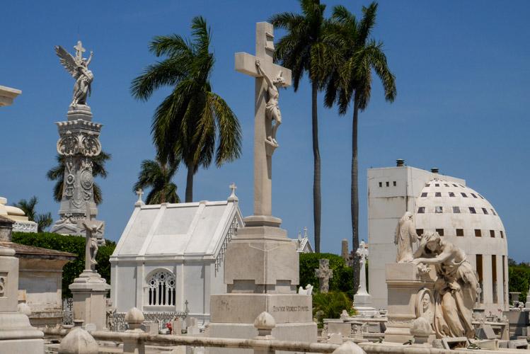 Cmentarz w Havanie na Kubie