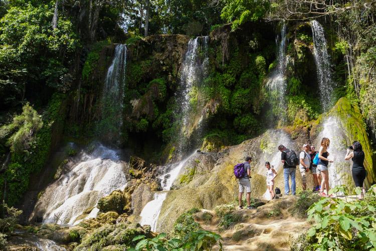 wodospad El Nicho na Kubie
