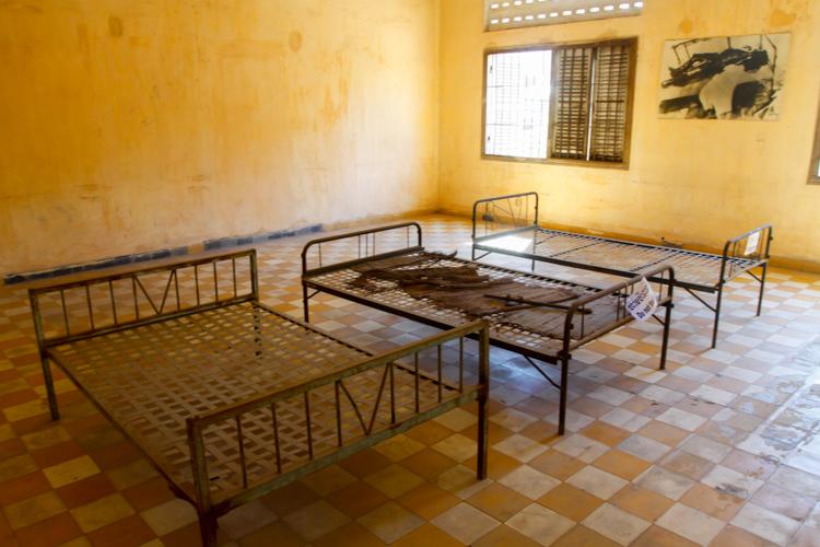 więzienie Tuol Sleng w Kambodży