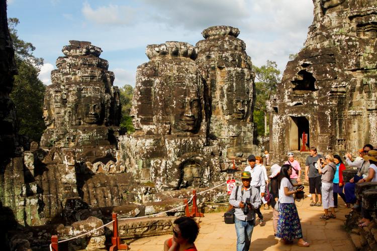 Angkor Thom w Kambodży