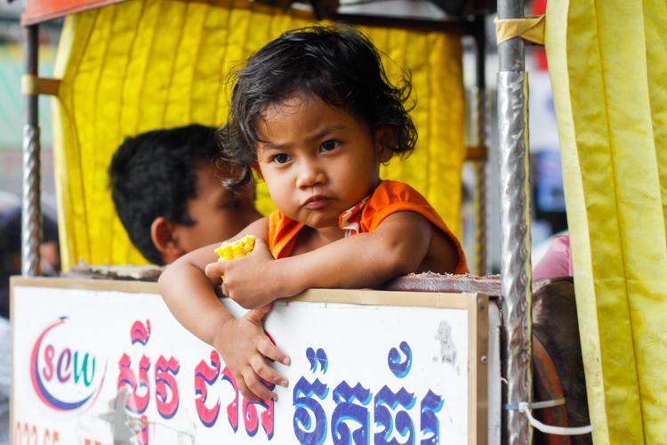 Phnom Penh w Kambodży