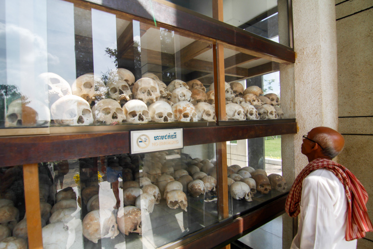 Choeung Ek, Kambodża, Pola Śmierci niedaleko Phnom Penh