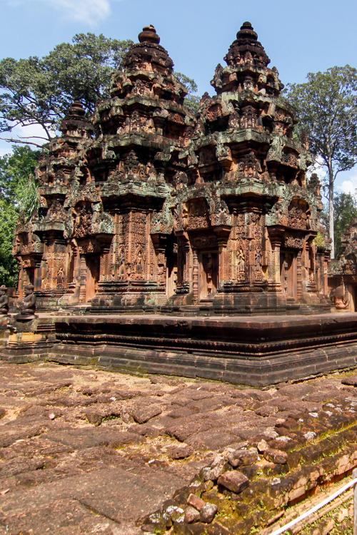 Banteay Srei w Kambodży